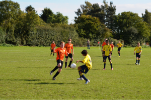 Stanway Villa Tornament Action