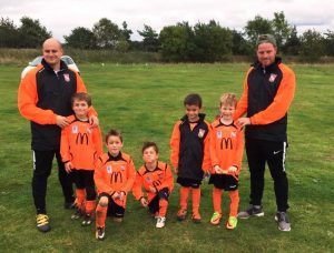 GALLERY – Under 8's – Blues & Reds